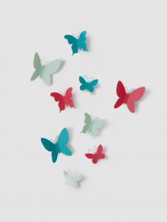 Mariposas Decorativas Color Set X9