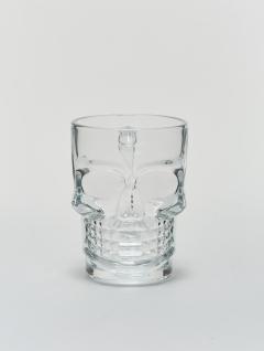 Mug Calavera Vidrio
