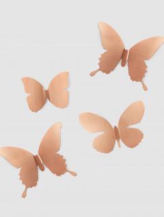 Mariposas Decorativas Cobre Set x 9