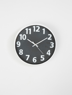 Reloj Vega Pared Negro