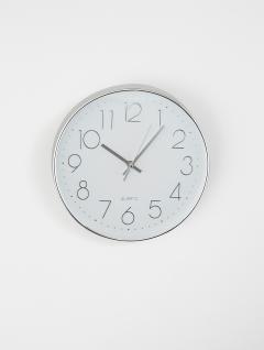 Reloj Pared Cosmo Cromo