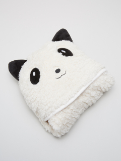 Manta Capucha Panda