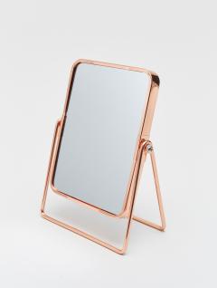 Espejo Maquillaje Rectangular Cobre