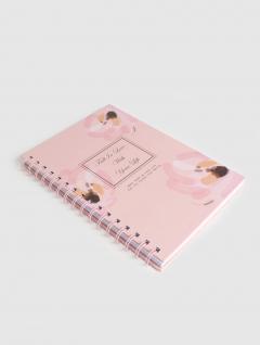 Cuaderno Rosas Espiral