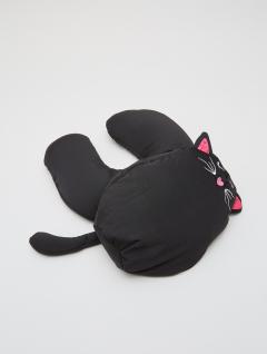 Almohadón Cuello Reversible Gato