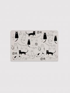 Alfombra Placa Cats