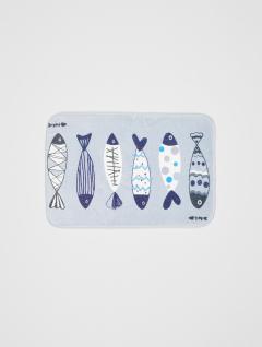 Alfombra Baño Fish