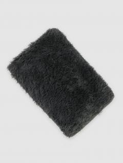 Alfombra Baño Hair Gris