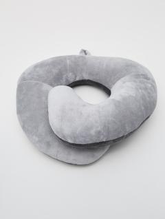 Almohadón Cuello Comfort Gris