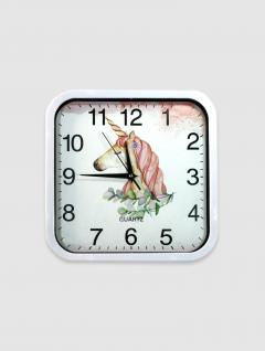 Reloj Unicornio Sq