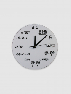 Reloj Formula Blanco