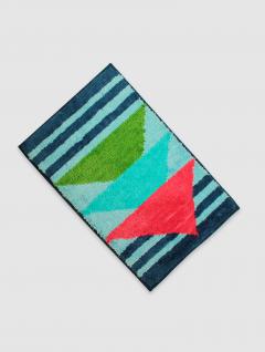 Alfombra Baño Geométrica Multicolor