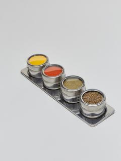 Especiero Steel Imán x4