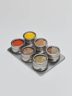 Especiero Steel Imán x6