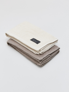 Repasadores Espalma Set x2 Beige/Gray