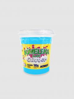 Slime Kimeleka con Glitter Azul