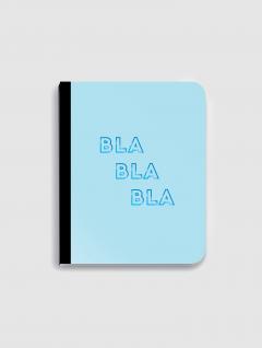 Cuaderno Rayado Blablabla Aqua