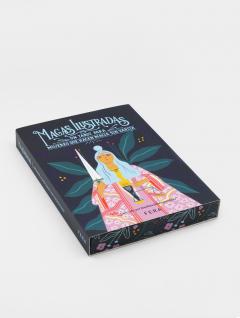 Libro Tarot Magas Ilustradas