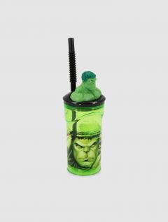 Vaso Hulk Con Sorbete