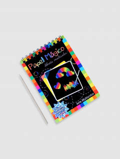Libreta Espiral Hojas Holográficas