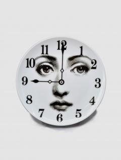 Plato Postre Clock Porcelana 20cm