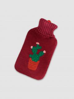 Bolsa Agua Caliente Cactus Bordo