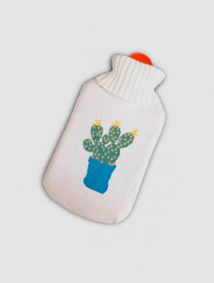 Bolsa Agua Caliente Cactus Blanca
