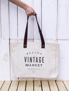 Bolso Tela Vintage Market