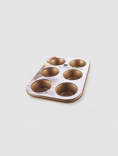 Fuente Muffins Cobre x6 Antiadherente