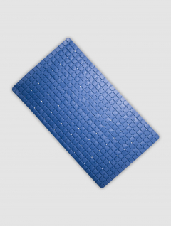 Alfombra baño Azul línea Cubic
