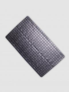 Alfombra baño Negra línea Cubic