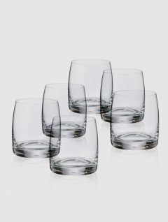 Set Vaso whisky Cristal 290ml x 6
