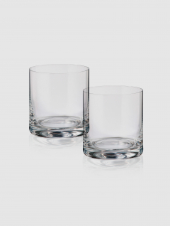 Set Vaso whisky Cristal 410ml x 2