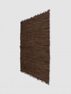 Alfombra Leather Grande Marrón