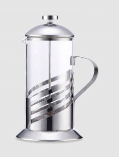 Cafetera Acero Émbolo 1000ml