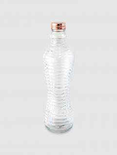 Botella Surcos Tapa Cobre