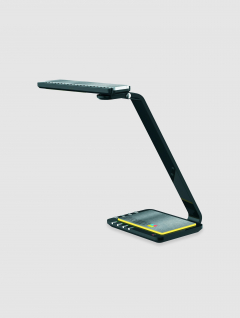 Lámpara Negra Dimmer Inteligente USB c/Luz de Noche
