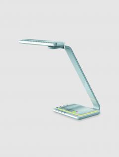 Lámpara Blanca Dimmer Inteligente USB con Luz de Noche