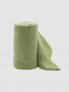 Cubrecama Verde Liso Twin