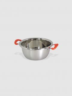 Bowl Steel Con Asas 24 cm