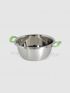 Bowl Steel Con Asas 28 cm