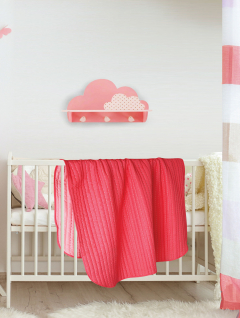 Quilt Cuna Reversible Coral