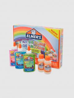 Kit Slime Rainbow x 5