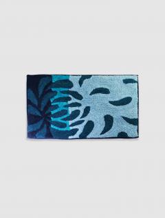 Alfombra Dibujo Azul