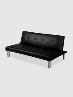 Sofa Cama Eco Negro
