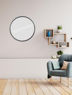 Espejo Round Negro 60 cm