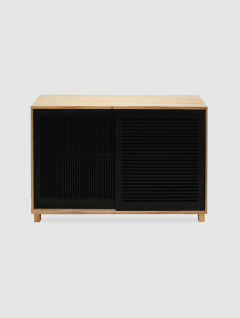 Mueble Alto Chia Negro
