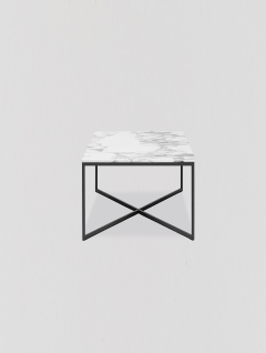 Mesa Ratona Carrara y Negro