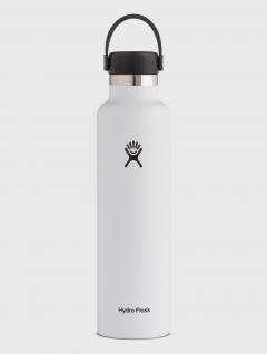 Botella Térmica Blanca Std  marca Hydro Flask 710ml