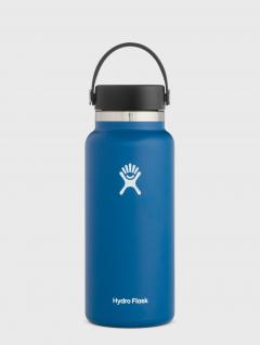 Botella Térmica Cobalto Wide marca Hydro Flask 946ml